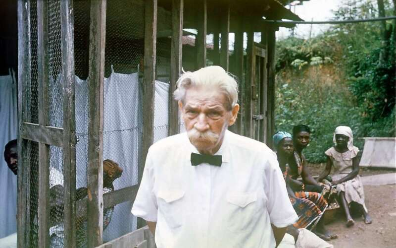 Albert Schweizer in Afrika