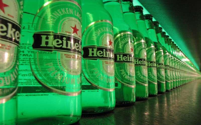 Heineken Flaschen