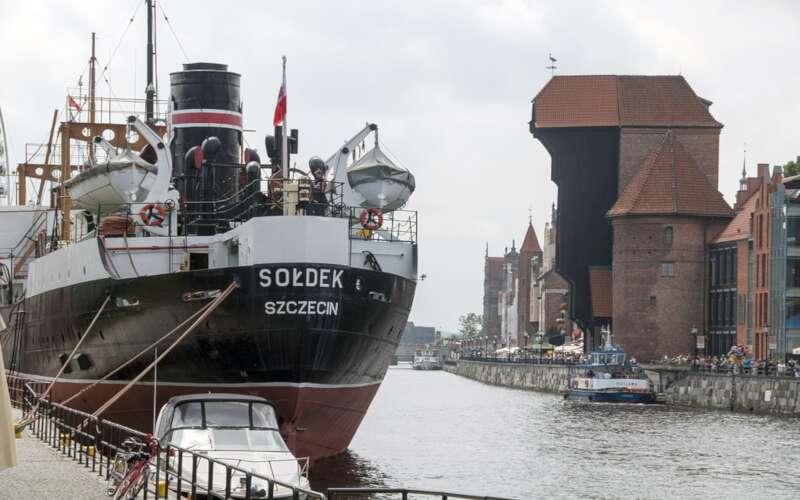 Museumsschiff Soldek