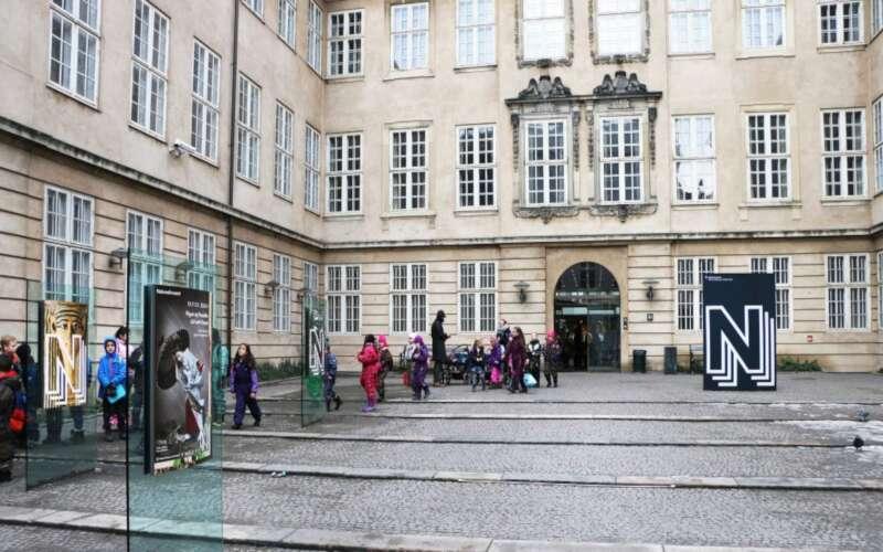 Frontansicht dänisches Nationalmuseum