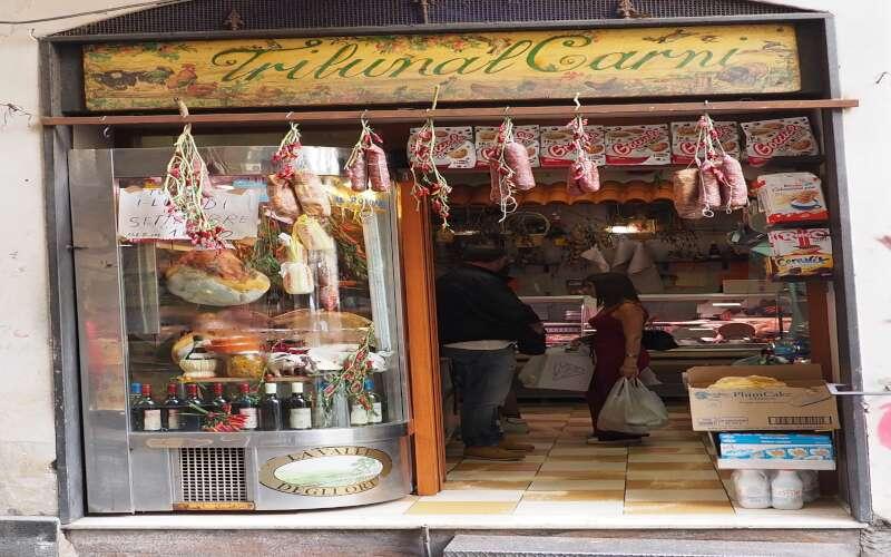 Neapel Geschäft