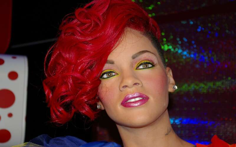 Rihanna im Wachsfigurenkabinett