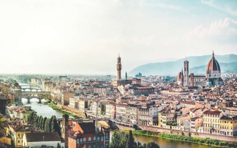 Stadtansicht Florenz