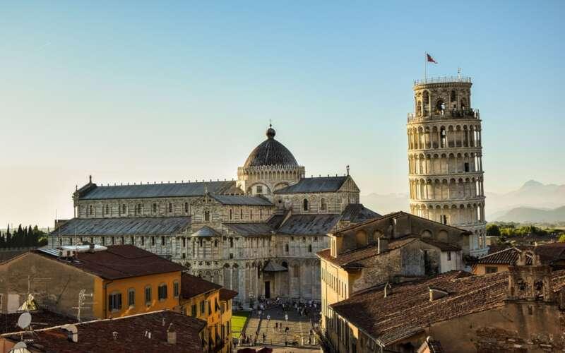 Stadtansicht Pisa