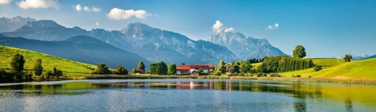 Klassenfahrt Allgäu Seenlandschaft