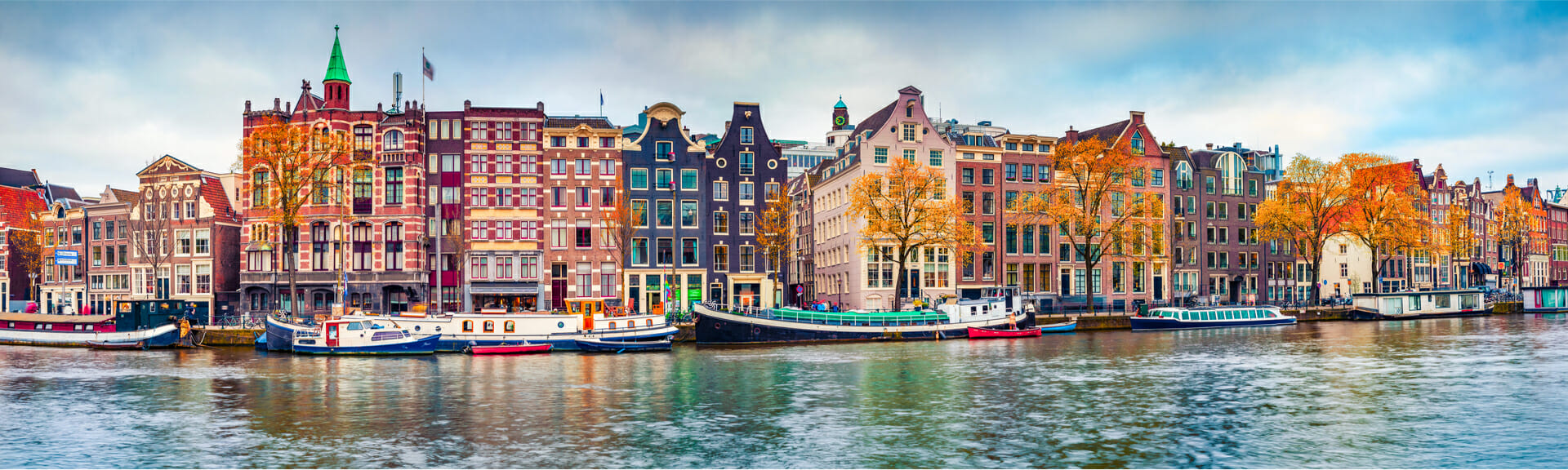 Klassenfahrt Amsterdam Gracht