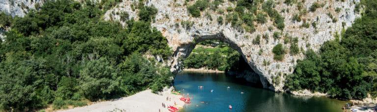 Klassenfahrt Ardèche Pont d'Arc