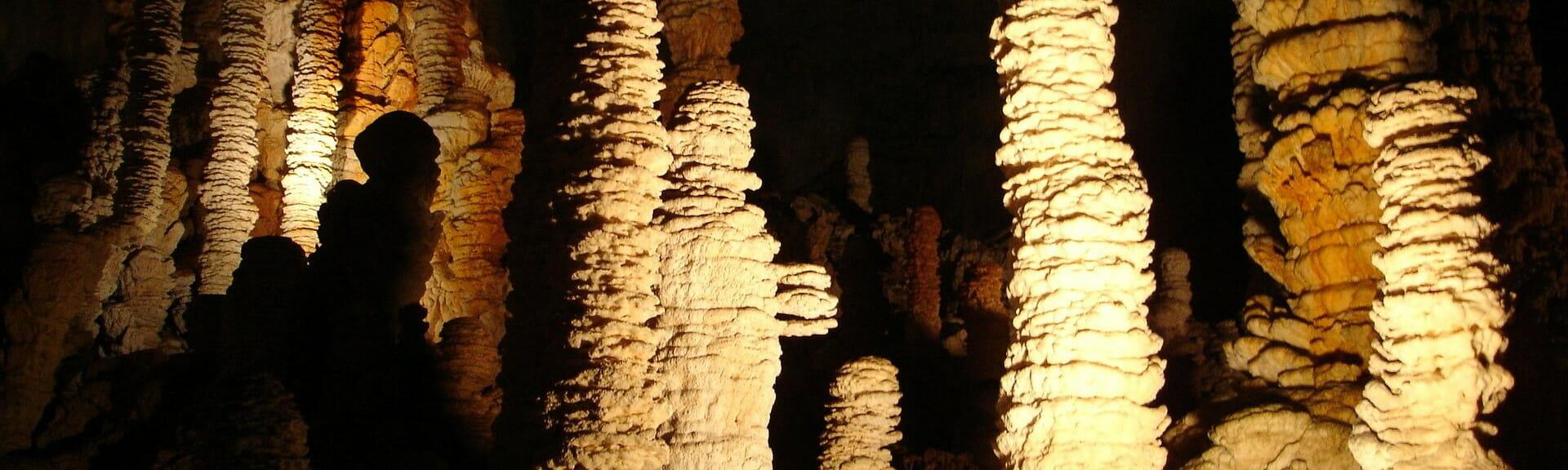 Klassenfahrt Ardèche Tropfsteinhöhle Aven d'Orgnac