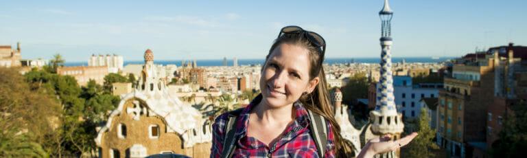 Klassenfahrt Barcelona Stadtansicht
