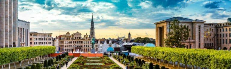 Klassenfahrt Brüssel Stadtansicht