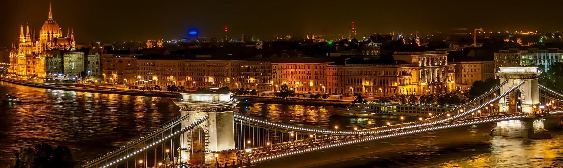 Klassenfahrt Budapest bei Nacht