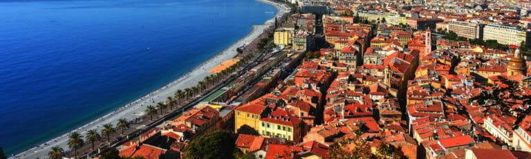 Klassenfahrt Côte d'Azur Promenade des Anglais