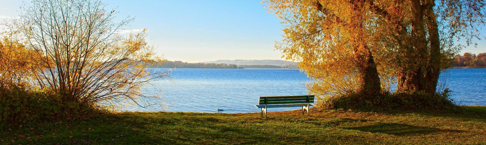 Klassenfahrt Chiemsee Chiemsee im Herbst