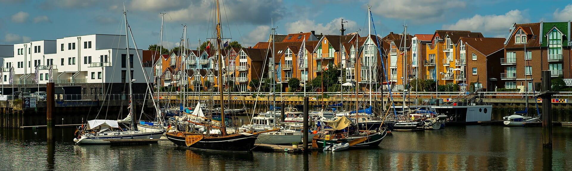 Klassenfahrt Cuxhaven Hafen