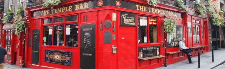 Klassenfahrt Dublin Temple Bar