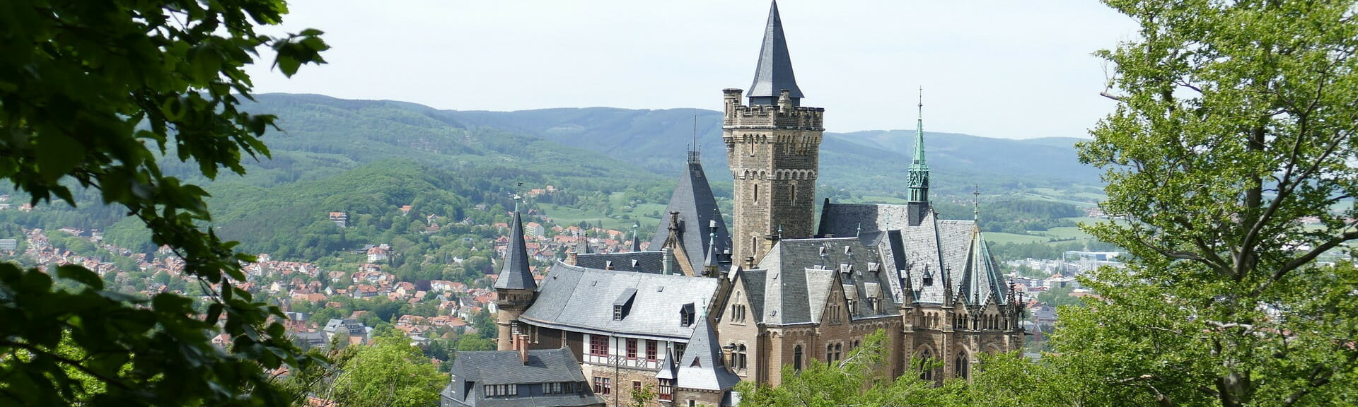 Klassenfahrt Harz Schloss Wernigerode