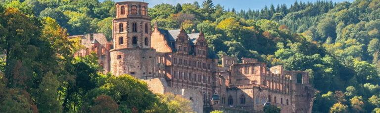 Klassenfahrt Heidelberg Schloss Heidelberg