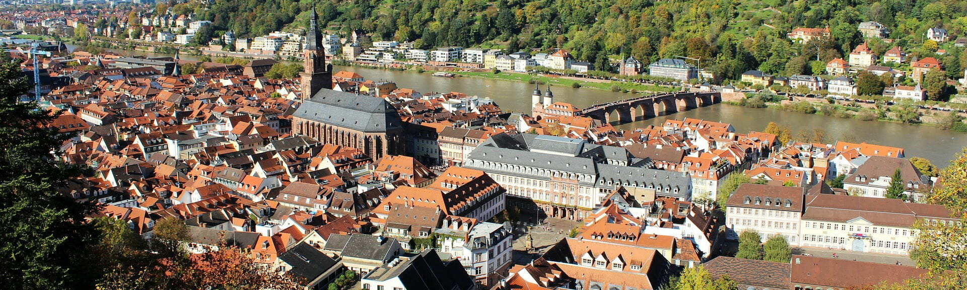 Klassenfahrt Heidelberg Stadtansicht