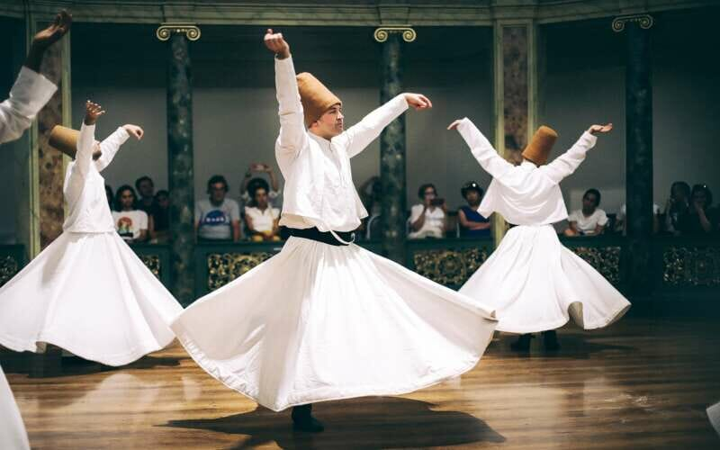 Türkischer Abend, tanzende Derwische