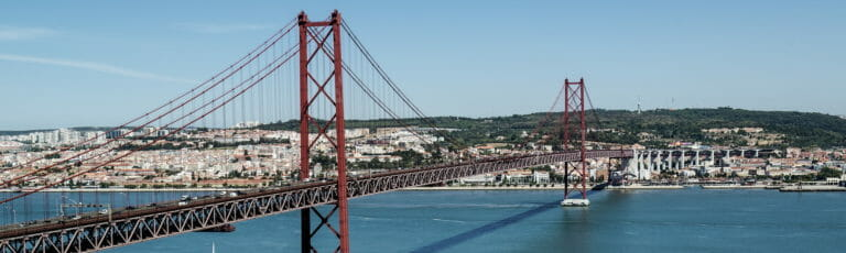 Klassenfahrt Lissabon Brücke Ponte 25 de Abril