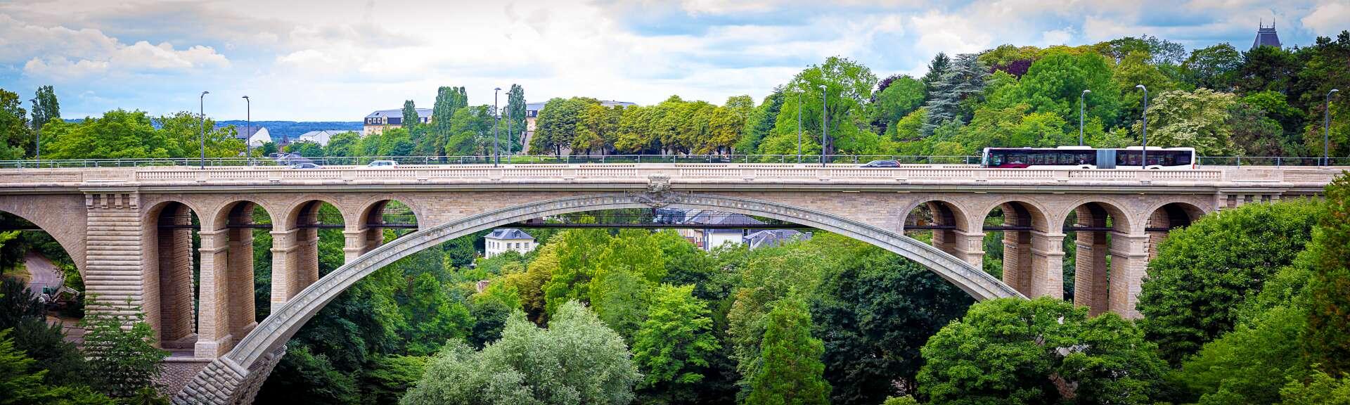 Klassenfahrt Luxemburg Adolphe-Brücke
