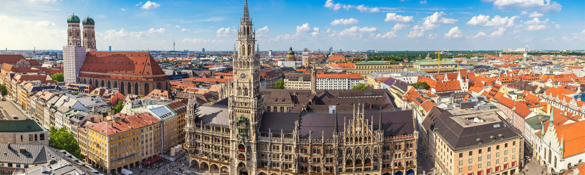 Klassenfahrt München Stadtansicht
