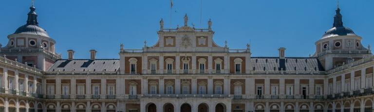 Klassenfahrt Madrid Palast