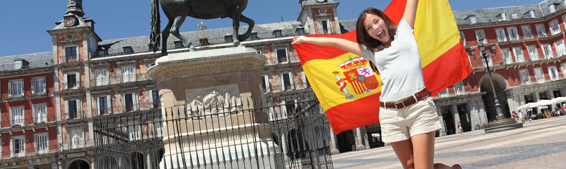 Klassenfahrt Madrid begeisterte Schülerin