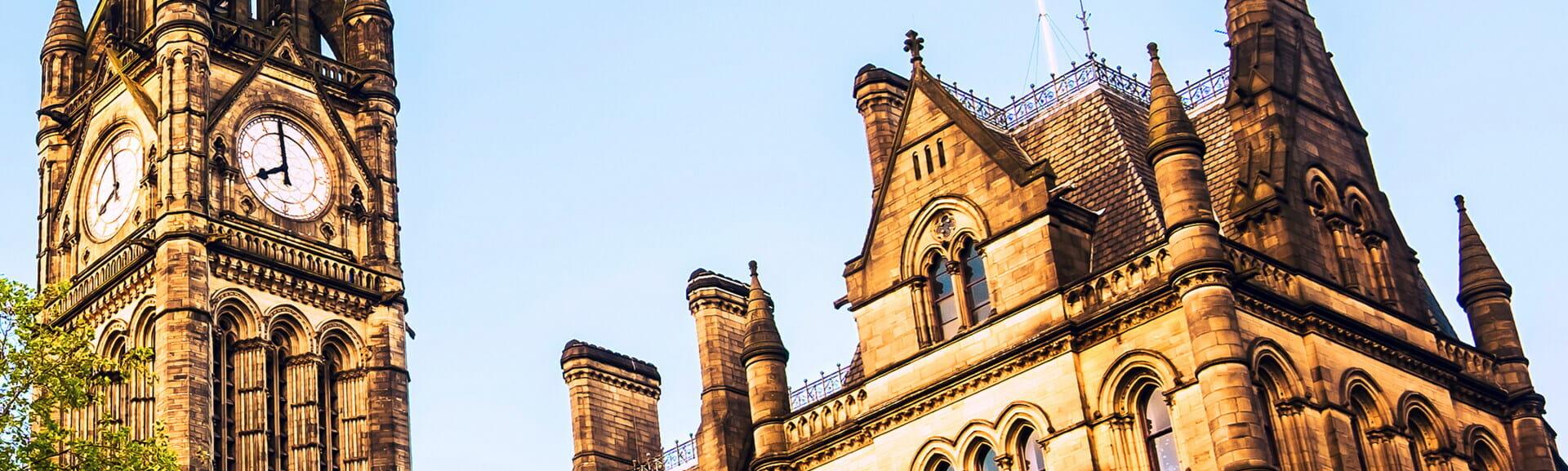 Klassenfahrt Manchester Rathaus