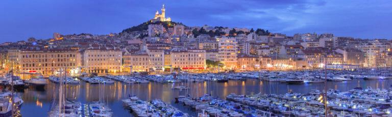 Klassenfahrt Marseille bei Nacht