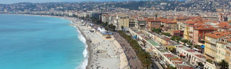 Klassenfahrt Nizza Promenade