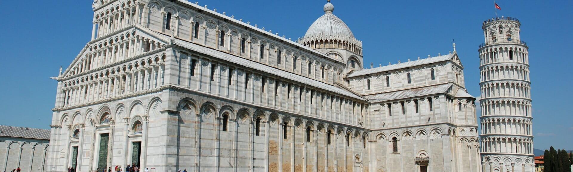 Klassenfahrt Pisa der schiefe Turm