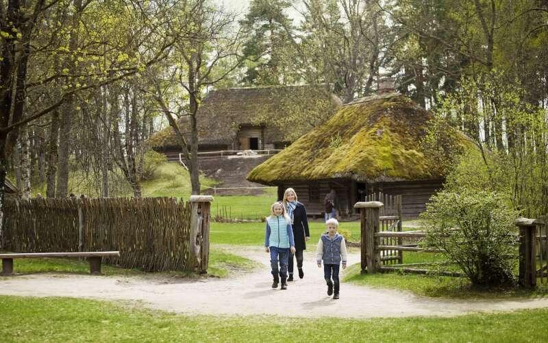 Freilichtmuseum Riga Lettland