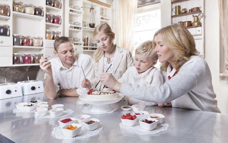 Klassenfahrt Riga Lettland Schokoladenmuseum