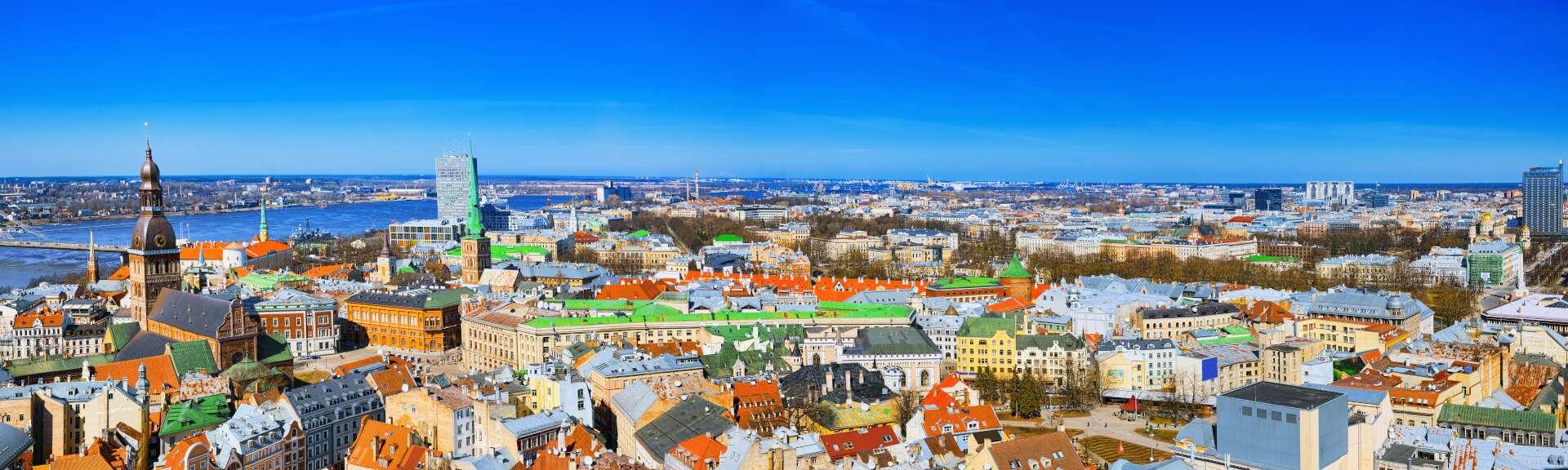 Klassenfahrt Riga Stadtansicht