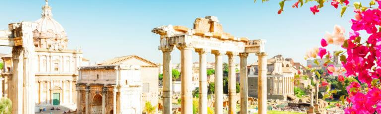 Klassenfahrt Rom Forum Romanum