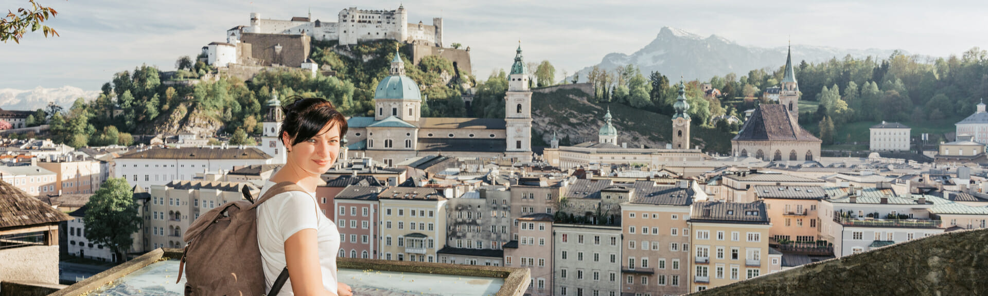 Klassenfahrt Salzburg Stadtansicht