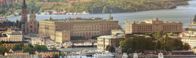 Klassenfahrt Stockholm Königspalast
