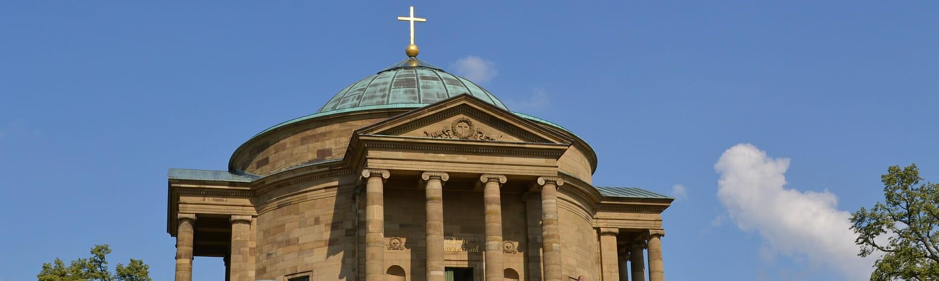 Klassenfahrt Stuttgart Grabkapelle auf dem Württemberg
