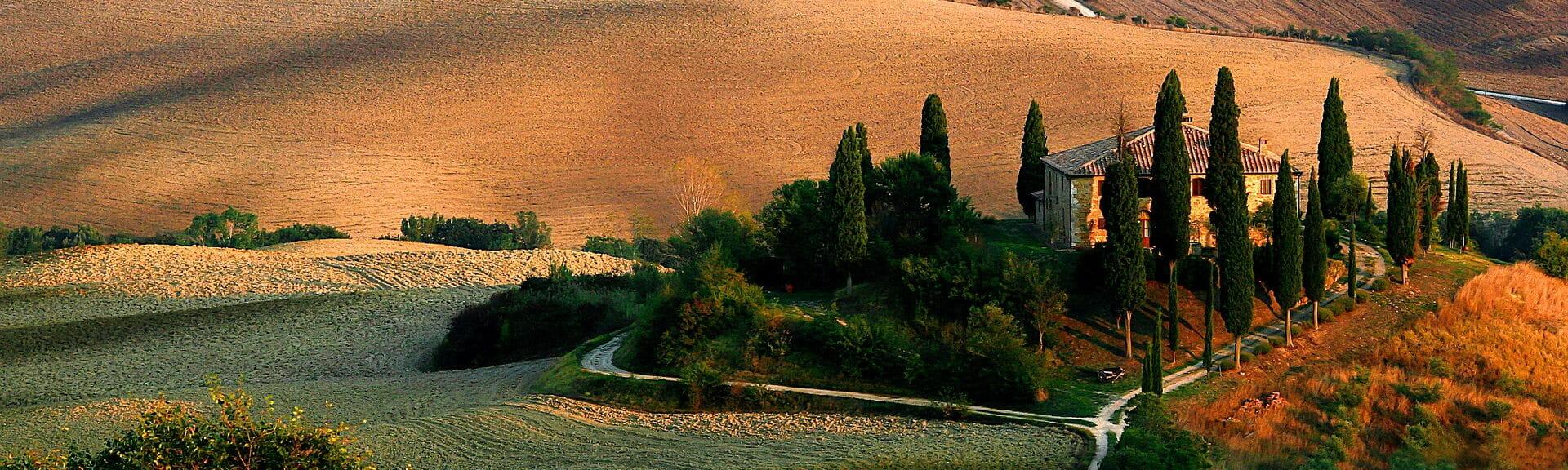 Klassenfahrt Toskana Landschaft