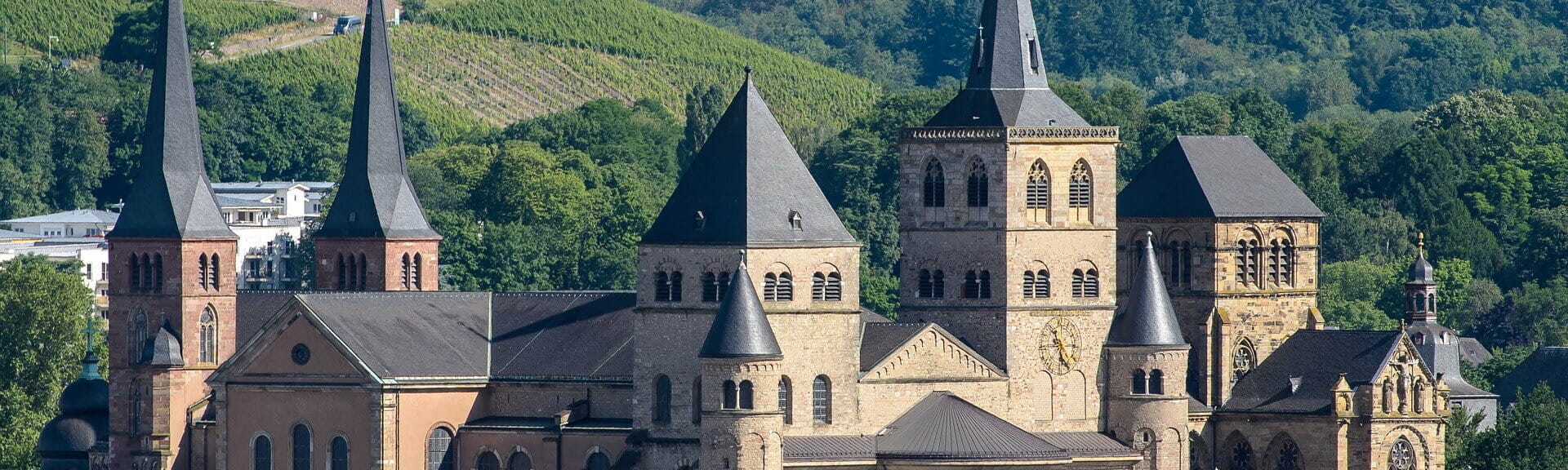 Klassenfahrt Trier Dom St. Petrus