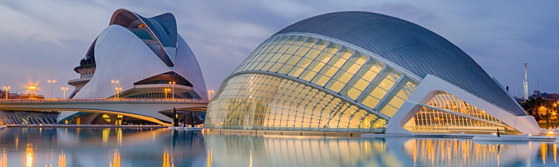 Klassenfahrt Valencia Stadt der Künste und der Wissenschaften
