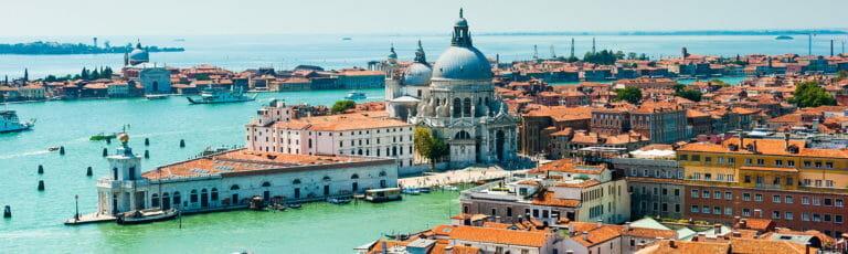 Klassenfahrt Venedig Barockkirche
