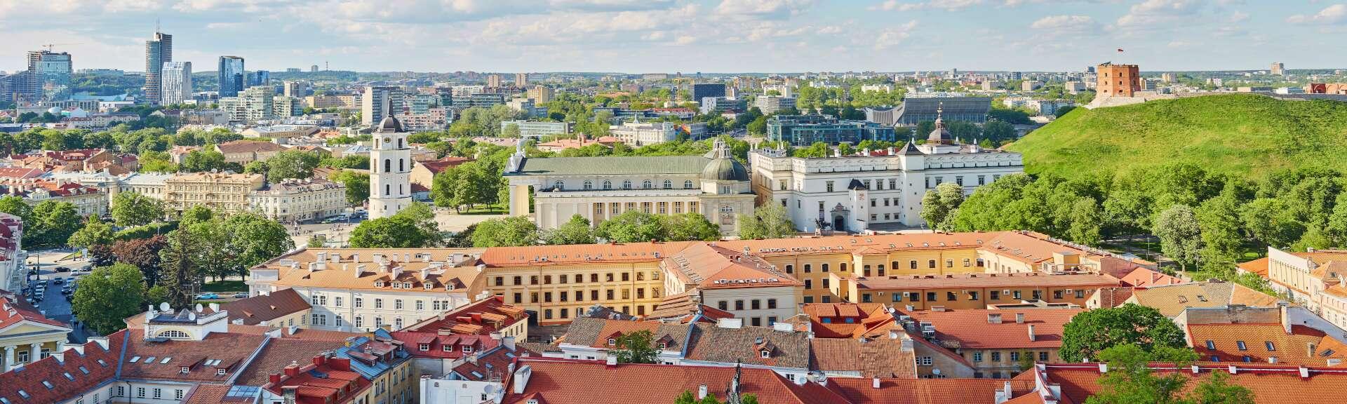 Klassenfahrt Vilnius Stadtansicht