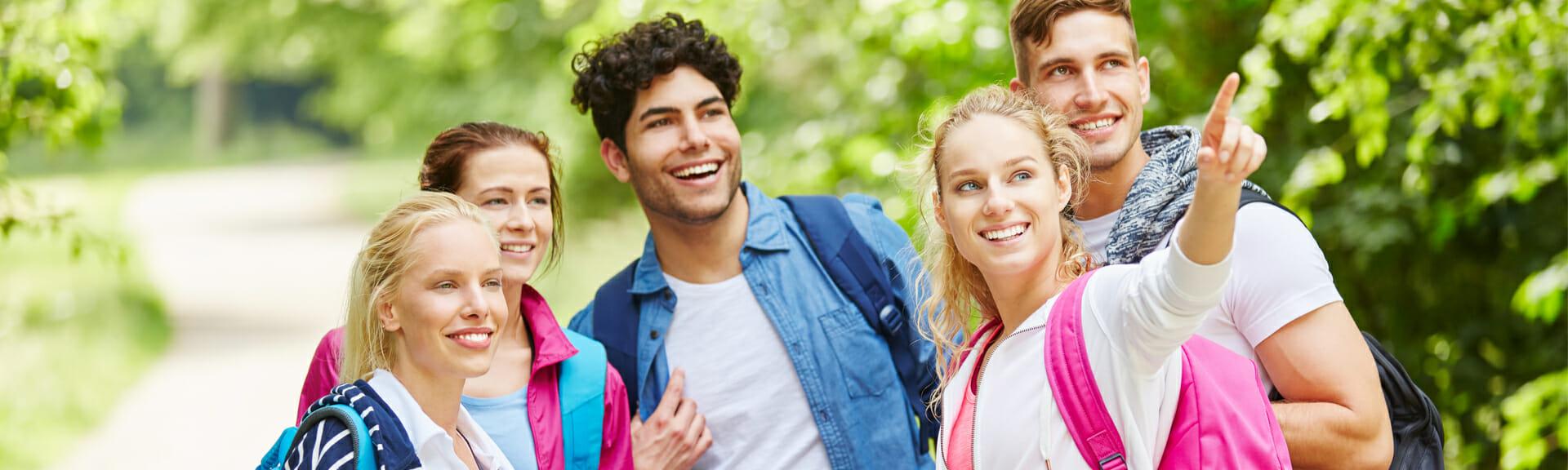Klassenfahrt Wagrain Schülergruppe