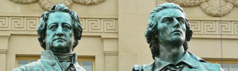 Klassenfahrt Weimar Goethe und Schiller