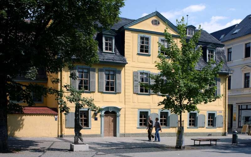 Klassenfahrt_Weimar_Schiller Wohnhaus