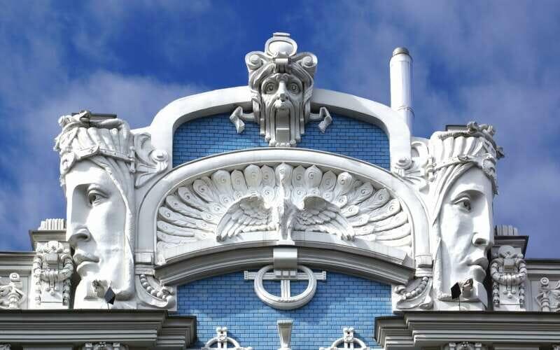Jugendstilgebäude Riga
