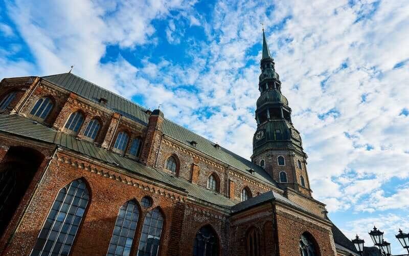 Petrikirche Riga Fassade