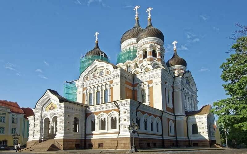 Alexander Newski Kathedrale Tallinn Fassade
